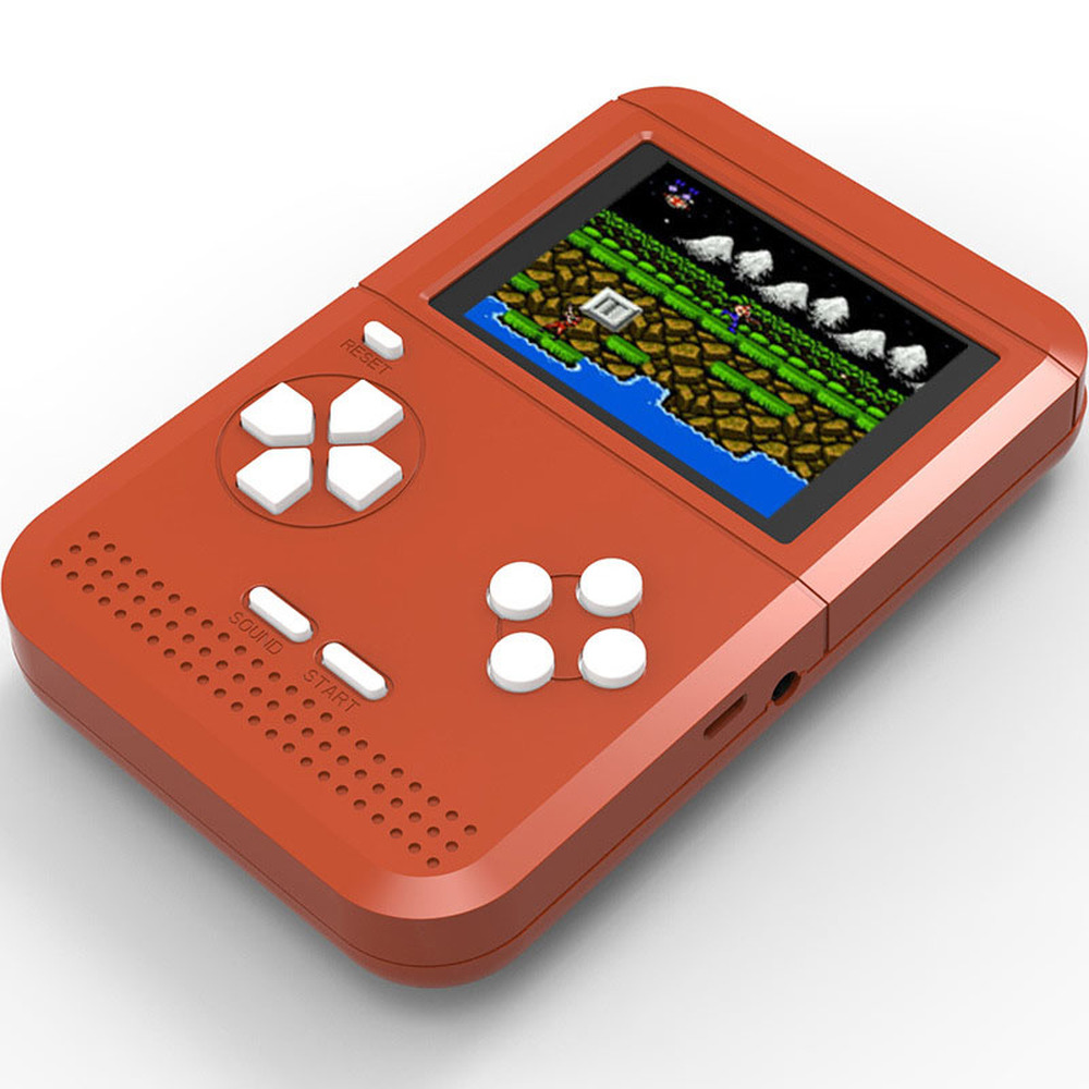 Image 2 - GRWIBEOU Retromax 8 Bit Mini Handheld Game Console Built in 300 Games 3 inch LCD Video Game Player Kids Gift-in Handheld Game Players from Consumer Electronics