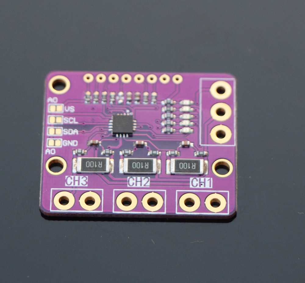 INA3221 3 Channel Shunt Current Voltage Monitor Sensor Replace INA219 Module