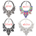 2017 Exaggerated Brief Paragraph Big Flower Sweet Clothing Qiu Dong Female Necklace Fashion Collarbone Sweater Chain Accessories