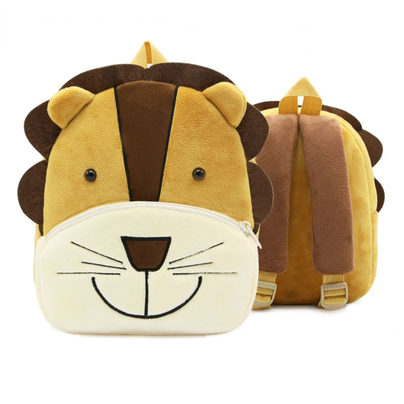 Cute Small Toddler Kids Backpack 3D Animal Cartoon Mini Bag for Baby Girl Boy