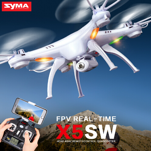 ФОТО Syma X5SW with Camera FPV Quadcopter X5SC (X5C Upgrade) HD Dron 2.4G 4CH 6-Axis RC Helicopter WiFi Drone ,Dron Quadrocopter Toy