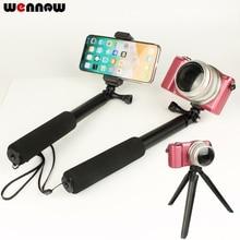 Selfie מקל כף יד חדרגל עבור Sony a6500 a6300 a6000 a5100 a5000 RX100 RX100M6 M5 M3 II III HX90 HX60 HX50 מצלמה חצובה