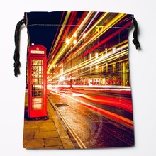 Fl Q98 New London England Telephone 2 Custom Printed receive bag Bag Compression Type drawstring bags