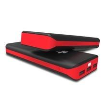 EC Technology Mobile Charger Power Bank 20000mah Portable External Battery Charger 3 USB Powerbank bank power bateria