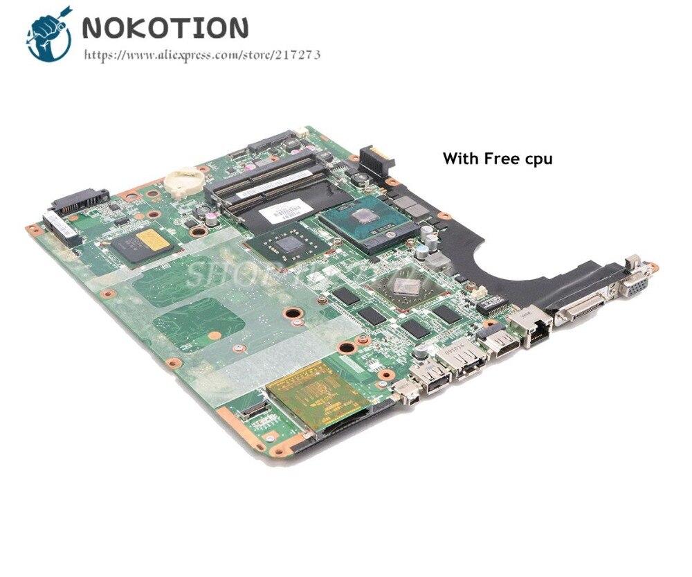 NOKOTION pour HP pavillon DV7-2000 DV7 DV7T ordinateur portable carte mère DDR3 gratuit cpu 578129-001 578130-001 carte principale