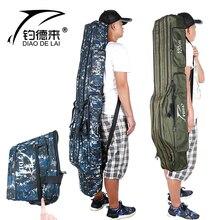 Fddl 낚싯대 가방 캐리어 낚시 릴 장 대 저장 가방 110 cm/120 cm/130 cm/150 cm
