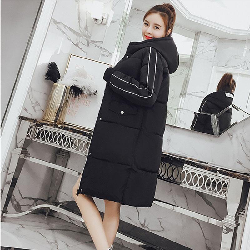 Black Chaqueta Capuche Femmes Chaud Vestes Ouaté Nouveau 2018 Veste Coton Epaissir Mujer Manteau En Longues red Qihuang Hiver Femme À wFRSqUBB