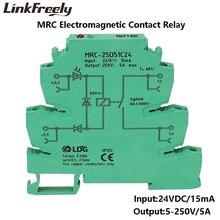 цена на MRC-25D51C24 DC 24V PLC Board Voltage Relay Electromagnetic Contact Interface Relay Module 5V 12V DC 120V 230V AC 1NO contact