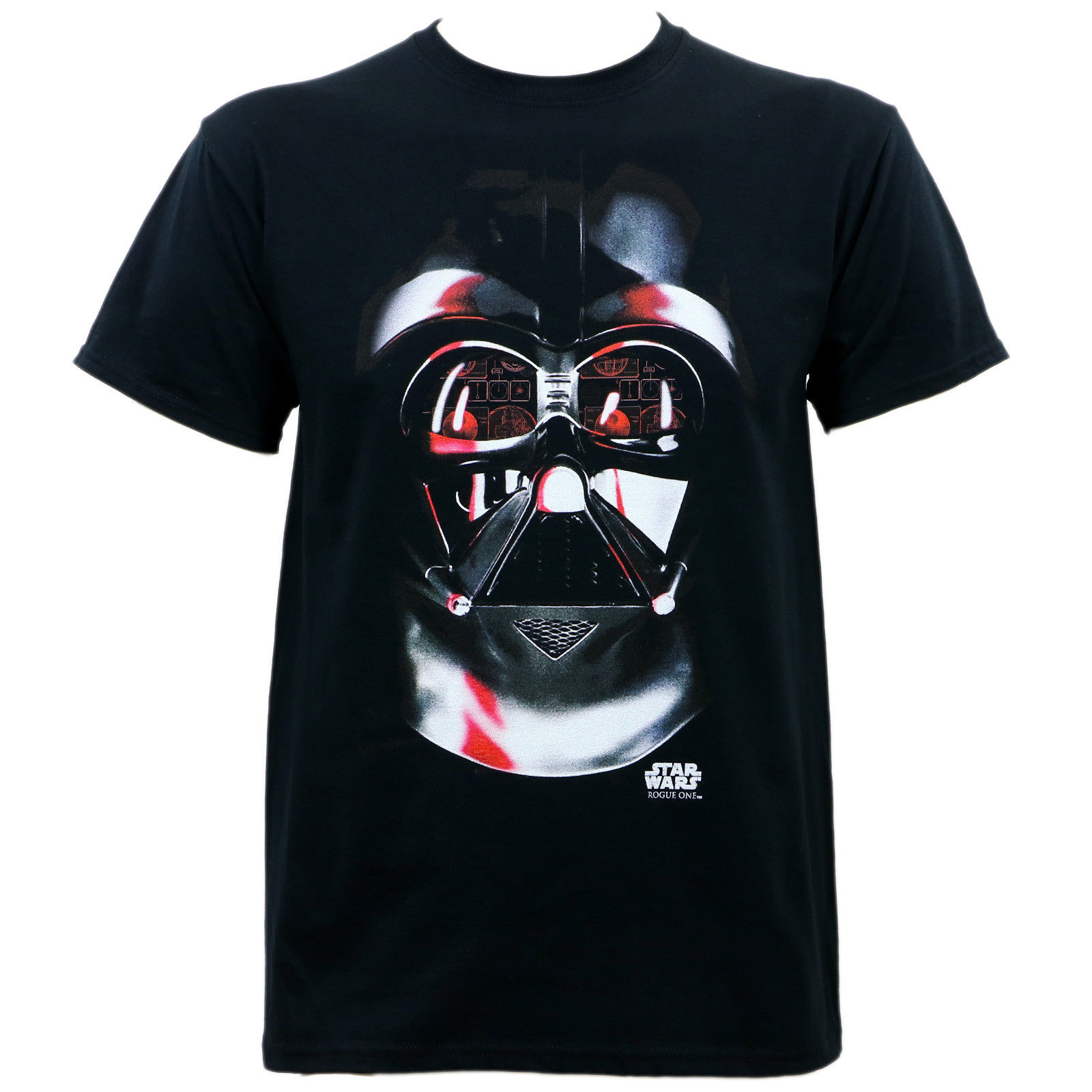 Authentic STAR WARS ROGUE ONE Lord Vader T-Shirt Black S-3XL NEW 100% Cotton Short Sleeves T Shirts Top Tee PLUS SIZE