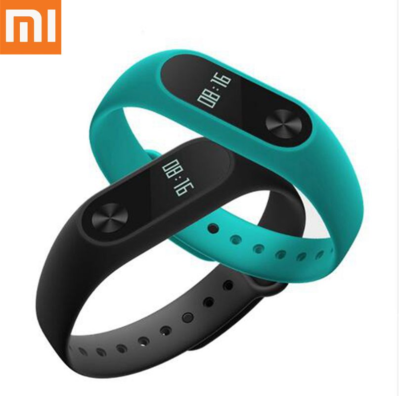 Original Xiaomi Mi Band 2 Smart Watch Fitness Bracelet Wristband Miband OLED Touchpad Heart Rate Monitor bracelet for mi band 2 in stock original xiaomi mi band 3 miband 3 smartband oled display touchpad heart rate monitor wristbands bracelet xiaomi mi 8