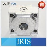 IRIS 2 Pcs Dental Lab Equipment Accessory Aluminium Denture Flask For Denture Injection Machine To