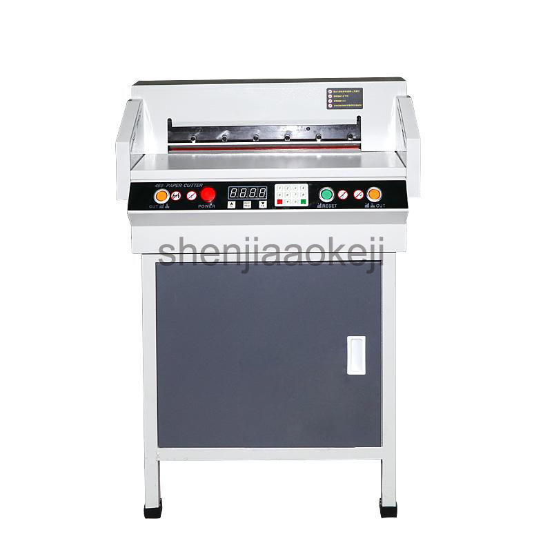 450VS+ Automatic CNC Electric Cutter Paper cutting machine paper trimmer 4CM Thick Paper Paper cut machine 110v/220v цена 2017