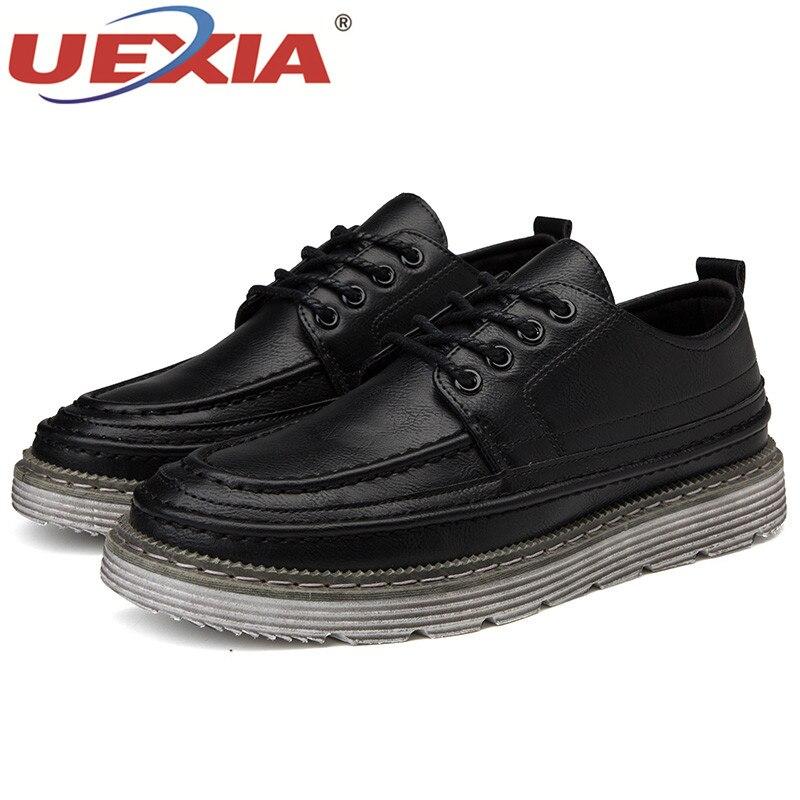 dark Chaussures Hommes Mode brown Brown Nouvelle Black Respirant Casual Glissent Sur 2018 Uexia Conduite Automne Appartements En Mocassins De Printemps Cuir Pu vFxwqp5nR