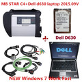 Latest technology mb star c4 auto diagnostic tool with dell 630 laptop mercedes star diagnosis car diagnostic scanner universal