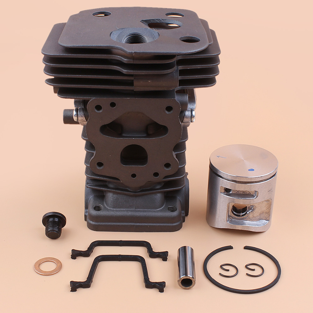 42MM Cylinder Piston Plug Gasket Kit For HUSQVARNA 445 445e 450 450 Rancher 45 7 cc Chainsaw Motor Parts 544119902
