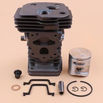 Kit de juntas de pistón de cilindro de 42MM para HUSQVARNA 445 445e 450.450 Rancher 45,7 cc motosierra piezas de motor 544119902