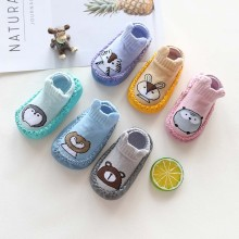 Детская обувь; модные нескользящие носки с рисунками животных для маленьких девочек и мальчиков; тапочки; мягкая удобная повседневная обувь; ботинки; bebek ayakkabi