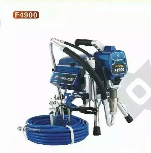 Pompa di verniciatura airless professionale a pistone elettrico airless F4900 con motore brushless