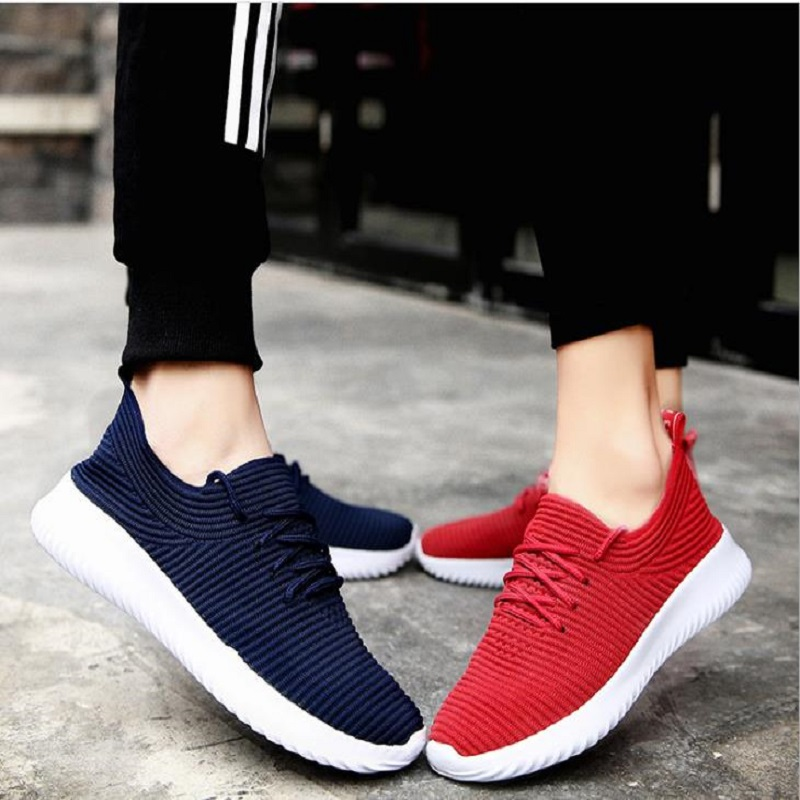 qing 2018 summer shoe mesh sports shoes, breathable leisure small white women's shoes,