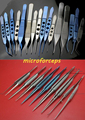 Medical beauty plastic tweezers stainless steel &titanium alloy ophthalmology tweezers microforceps
