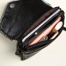 Big size women bags female small shoulder bags leather handbag black purses crossbody bags for women Envelope girl lady hand bag