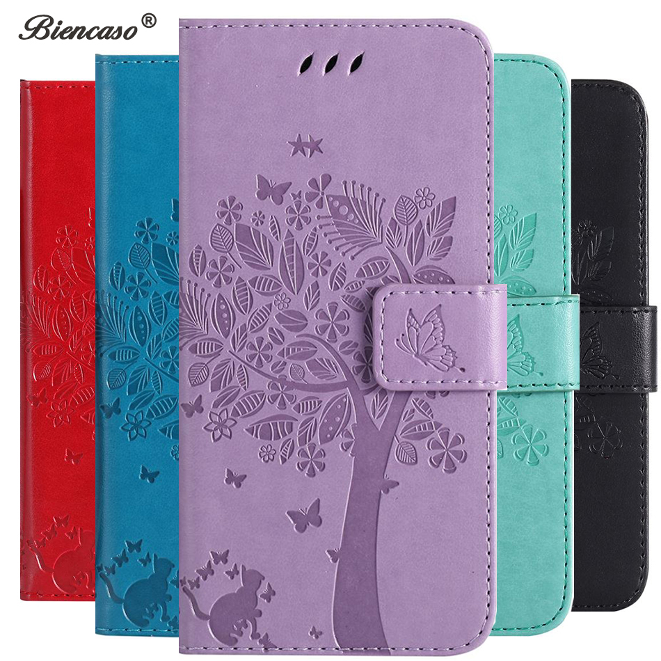 Flip Coque Card Slot Leather Wallet Phone Case For <font><b>Huawei</b></font> Y5 <font><b>Y7</b></font> Prime 2018 Y9 2019 Y6 Pro <font><b>2017</b></font> Y360 Y625 Y3 II Back <font><b>Funda</b></font> B28Z image