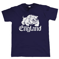 Made In England T Shirt Bulldog Footballer Casual 80 S Terraces MMA Tattoo 2017 Latest Men