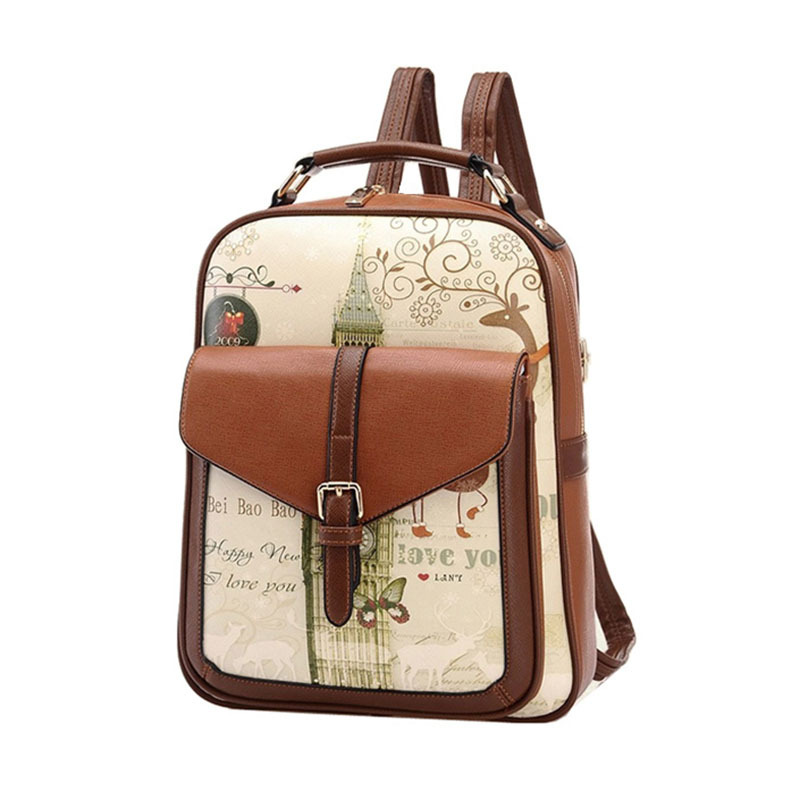 Backpack Mochila Lemochic Backpack Women Leather Backpack School Bags for Teenagers Fashion Woman Backpacks Vintage Bolso 2L shirley боди белое с лентами и кружевом