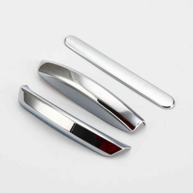Interior Chrome Handles Decorate Hand Brake Cover Trim For Je*p Wrangler 11-2015