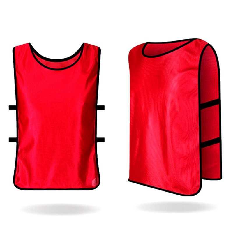 1 Pc nuevo equipo de formación camisetas de fútbol baloncesto adultos jóvenes y Chico es Pinnies Jerseys nuevo
