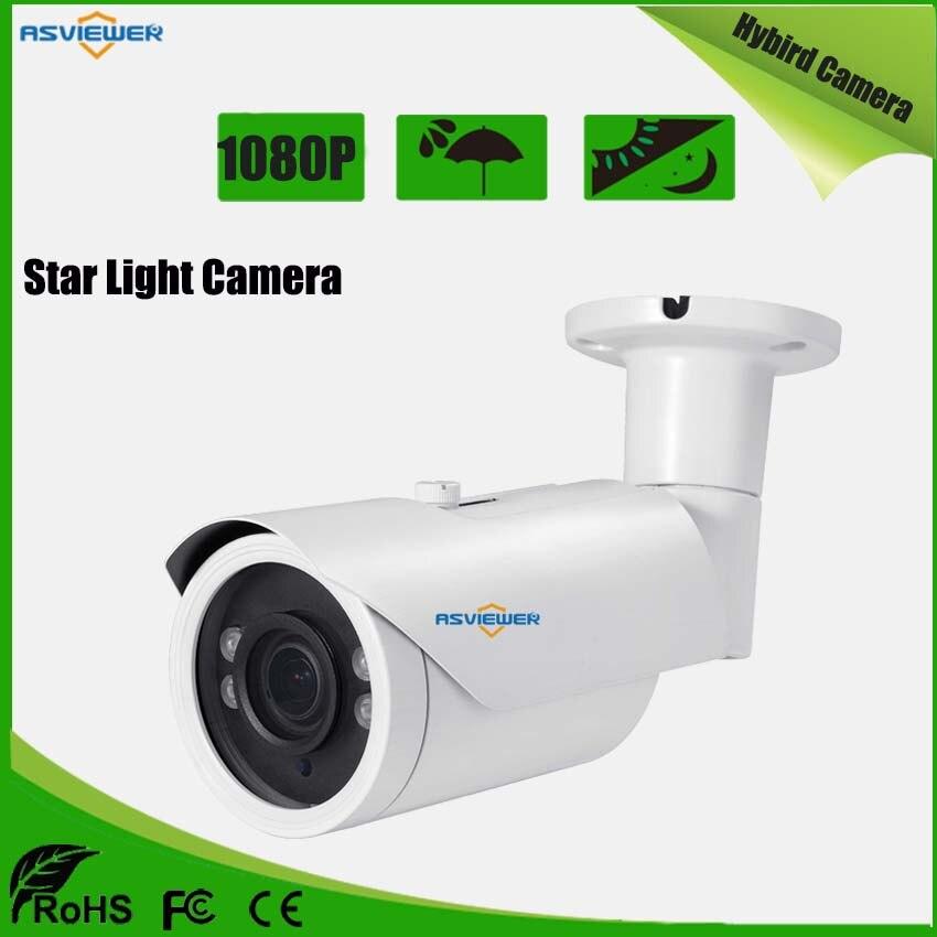 Sony IMX307 Sensor Star Light Hybrid Camera 1080P Support AHD/CVI/TVI/CVBS Output Waterproof 40m IR distance AS-MHD8407RLTSony IMX307 Sensor Star Light Hybrid Camera 1080P Support AHD/CVI/TVI/CVBS Output Waterproof 40m IR distance AS-MHD8407RLT