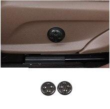 Углеродное волокно Стиль ABS регулятор сидения Кнопка Накладка для Mercedes Benz GLC/CLS/E/C класс W205 W212 W213 автомобильные аксессуары