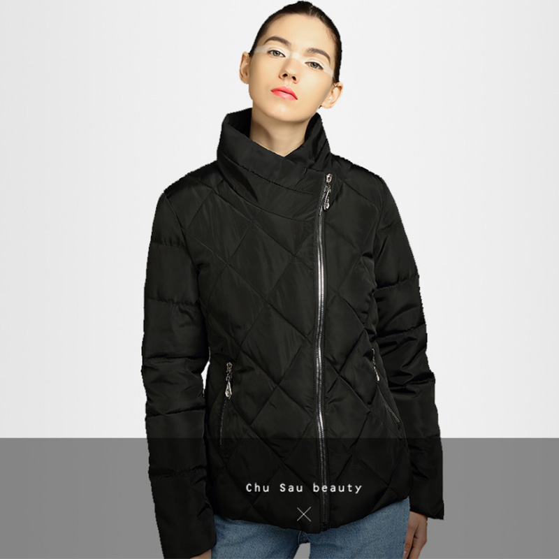 2019 Hoodies   Parkas   Coats Women Plus Size Spring Warm Cotton Coat Female Zipper Pocket Casual Office Lady Outerwear Fall
