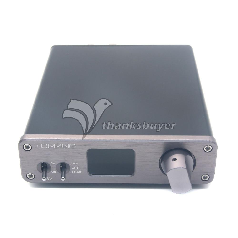 bilder für Richt VX2 2x40 Watt 2CH 24bit 192 kHz Digital Verstärker HIFI Audio Amp Unterstützung USB Koaxial Optische Faser