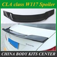 Mercedes W117 Carbon Fiber Spoiler For Benz CLA W117 Class 2013 + Rear Spoiler
