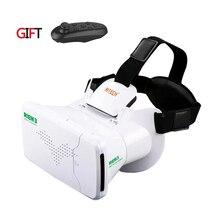 Ritech III 3D VRแว่นตาRIEM3หมวกกันน็อกความเป็นจริงเสมือนชุดหูฟังของG Oogleกระดาษแข็งO Culus rift DK2กล่องสำหรับ4.7 ~ 6.0นิ้วมาร์ทโฟน
