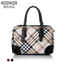 2015 new fashion handbags handbag ladies classic plaid font b tartan b font satchel factory direct
