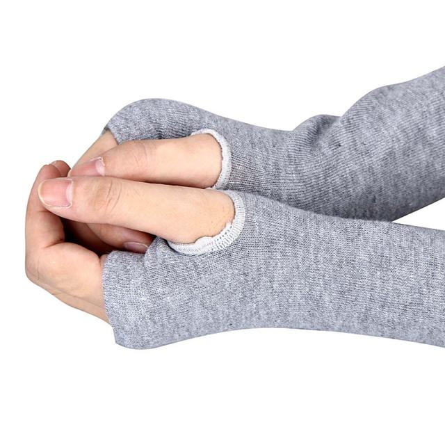 Jersey Mittens for Women