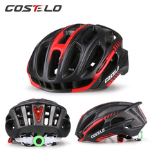 Costelo Light Cycling Helmet Bike Ultralight helmet Casco bicicleta velo capacete Mtb Road Bicycle Helmet 58-62cm free shipping