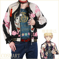 Reserve Anime Boku No MY HERO ACADEMIA Figure Bakugou Katsuki Fanart Magazine Fashion Daily Wear