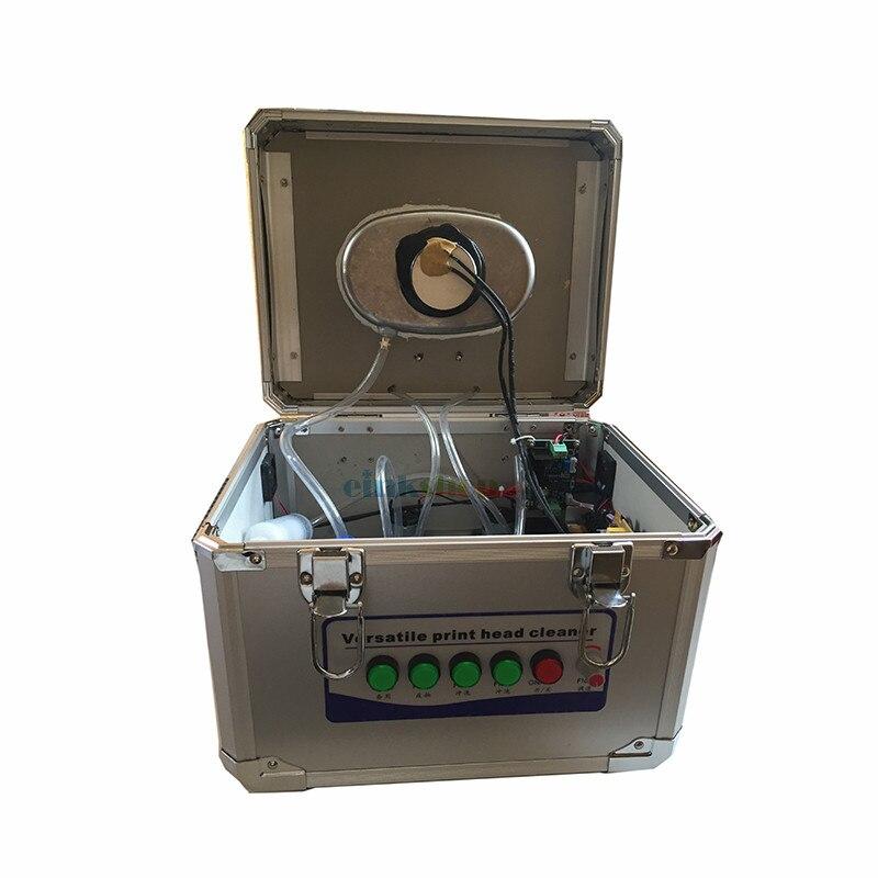 Nettoyeur de tête d'impression à ultrasons pour Epson DX4 DX5 DX7 tête d'impression machine de nettoyage à ultrasons tête d'imprimante nettoyage professionnel