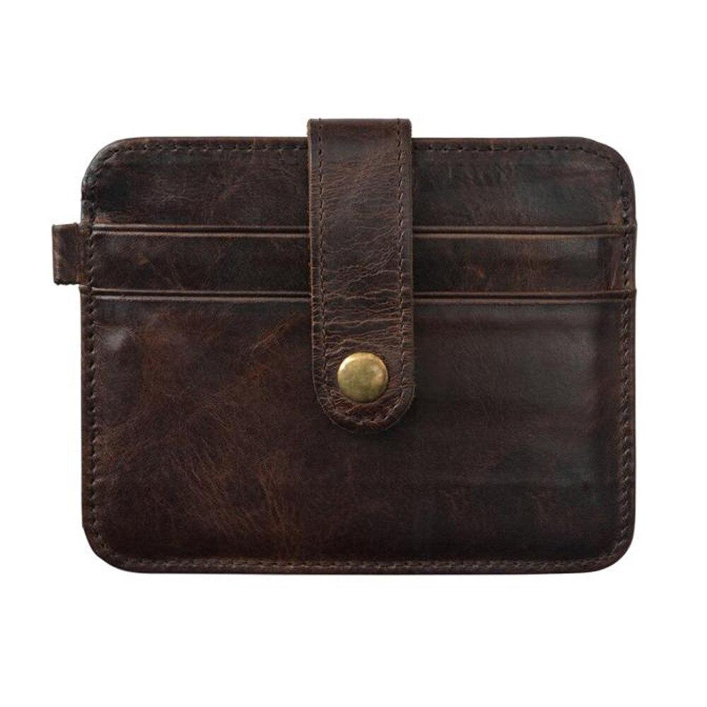 wallet men credit holder card mini wallet simple portable. Black Bedroom Furniture Sets. Home Design Ideas