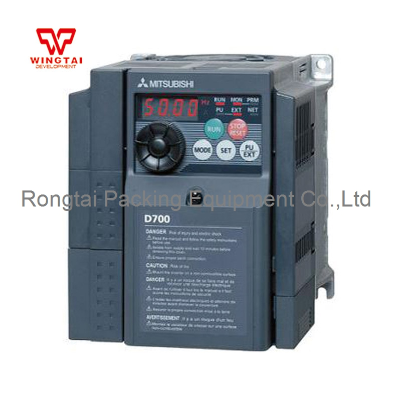 Mitsubishi Single-phase 220V 50HZ FR-D Series FR-D720S-0.75K-CHT For Packing Machine