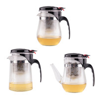 500ml Chinese Glass Make Teapot Tea Pot Set Teakettle Barware Tableware Teas Bar Tools Products Gift