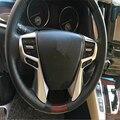 Cubierta auto del coche del estilo Para Toyota Alphard Vellfire 2016 cromo del ABS de la perilla botón tapa máscara accesorios moulding recortar
