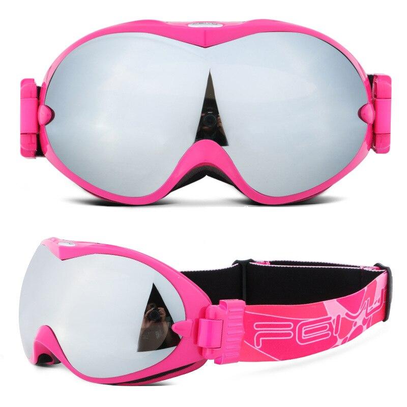 Double lentille lunettes de Ski neige Snowboard lunettes Anti-buée grand masque de Ski lunettes Protection UV pour hommes femmes jeunesse