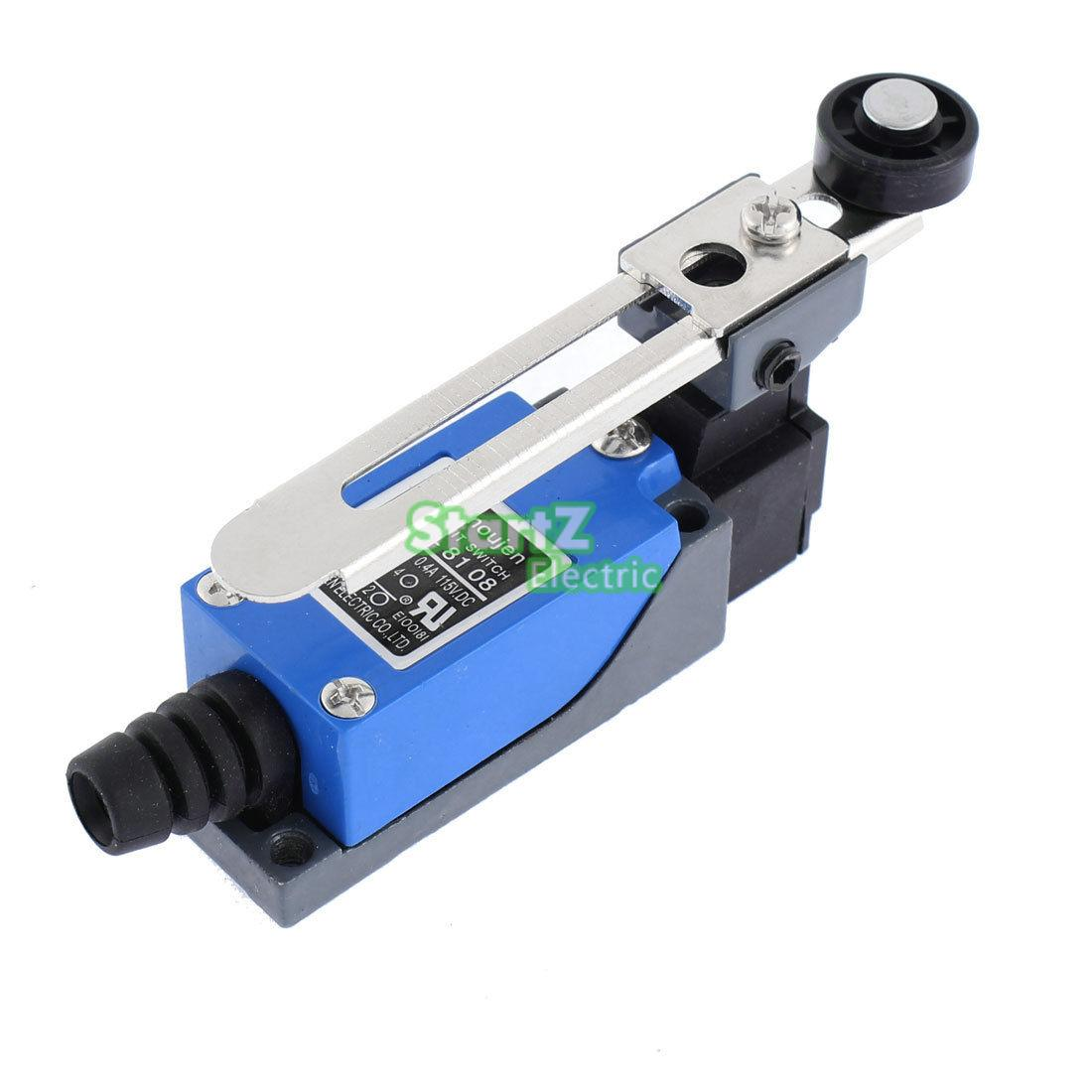 New Waterproof ME-8108 Momentary AC Limit Switch For CNC Mill Laser Plasma professional electrical switches dustproof rotary roller lever limit switch overtravel limit for cnc mill laser plasma me 8108
