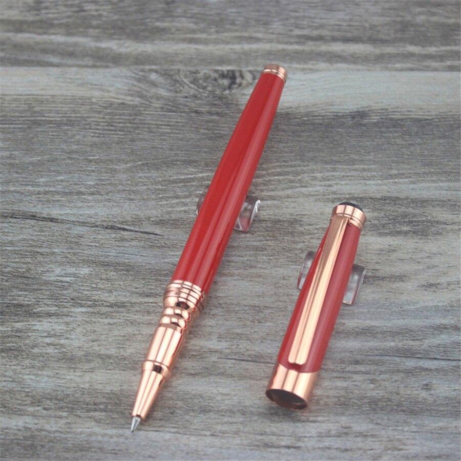 červená MONTE MOUNT kuličková tužka Pen School Office dodává kuličková pera vysoce kvalitní muži ženy obchodní dárek 027