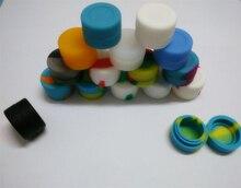 3 мл Best продаж круглый силикона с антипригарным контейнер с антипригарным покрытием банки 100 шт./лот