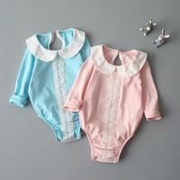 Baby Girl Clothes Newborn Romper Cute Infant Sleepwear Autumn Spring Hot Kid Long Sleeve 2017 Pure